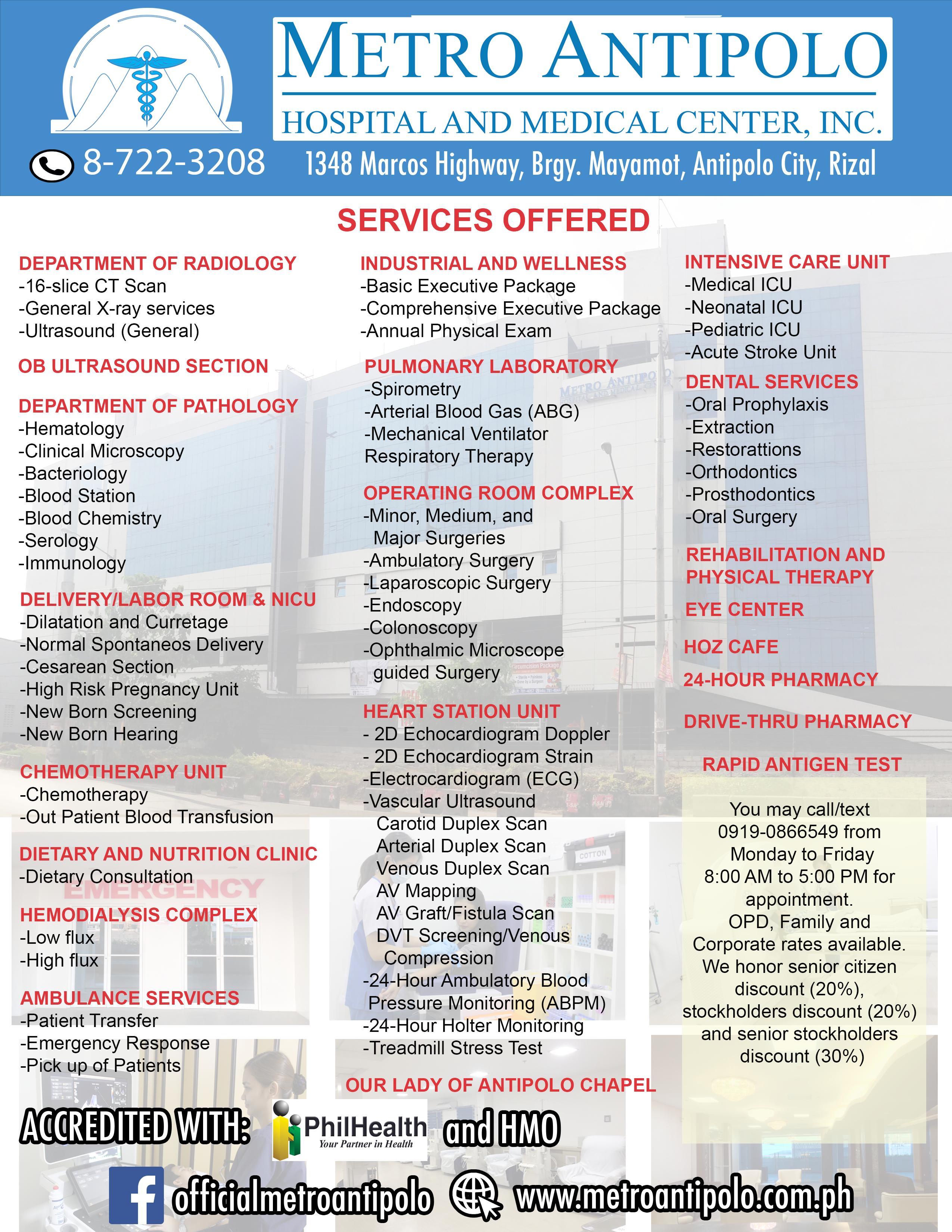 MAHMCI Services