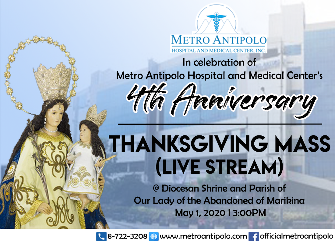 Thanksgiving Mass - MAHMCI 4th Anniversary