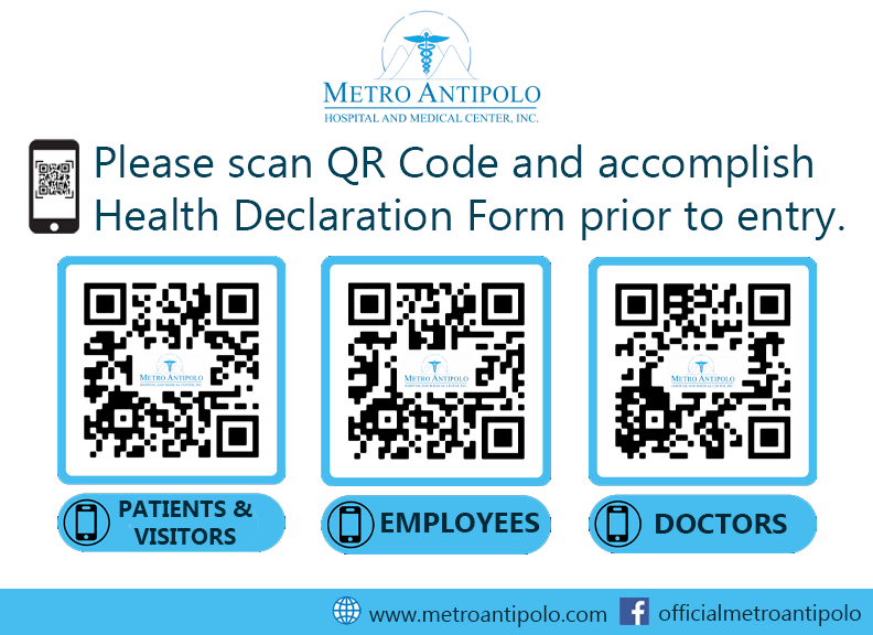 MAHMCI Mandatory Accomplishment and Submission of the Health Declaration Forms