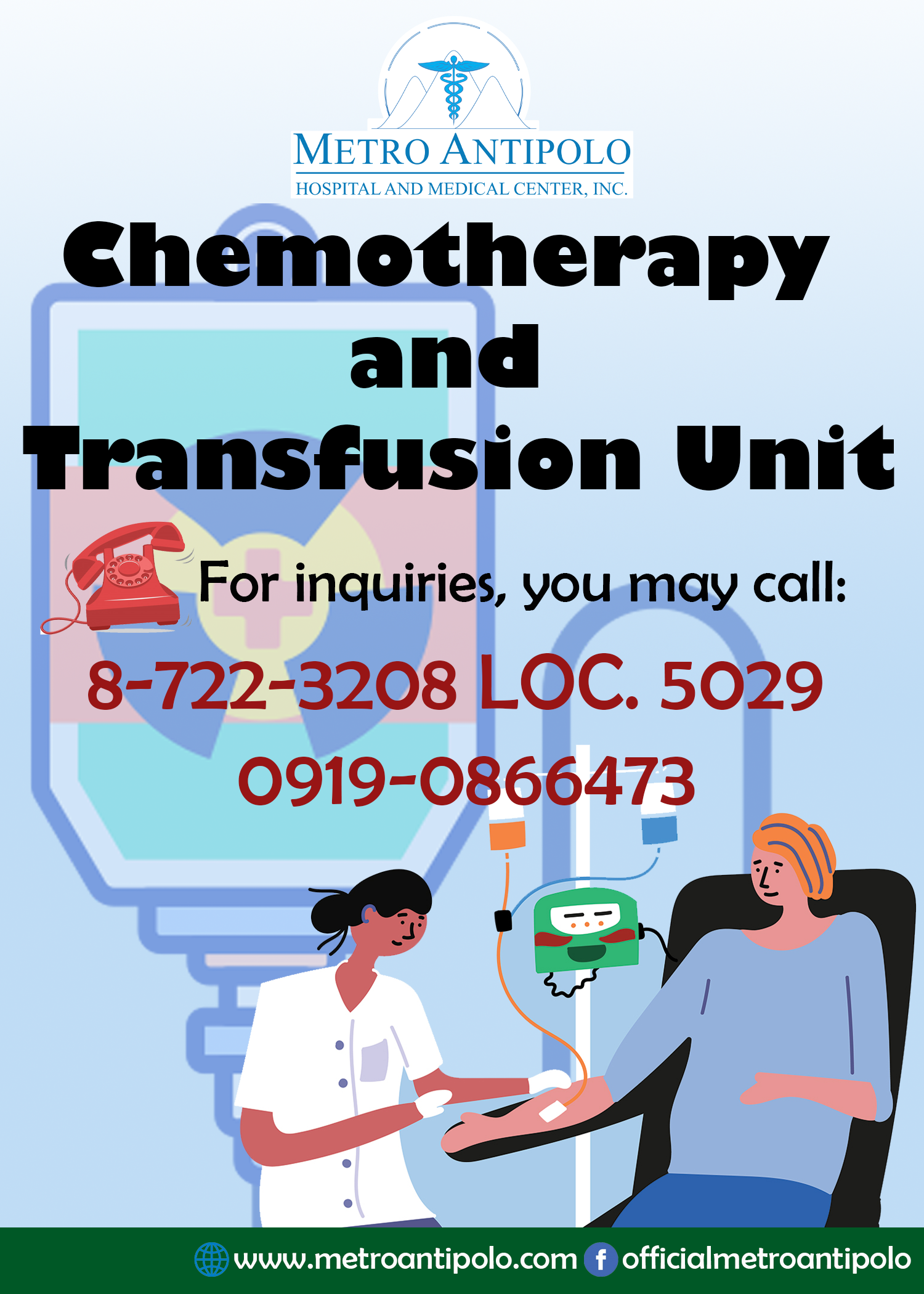 Chemotherapy and Transfusion Unit