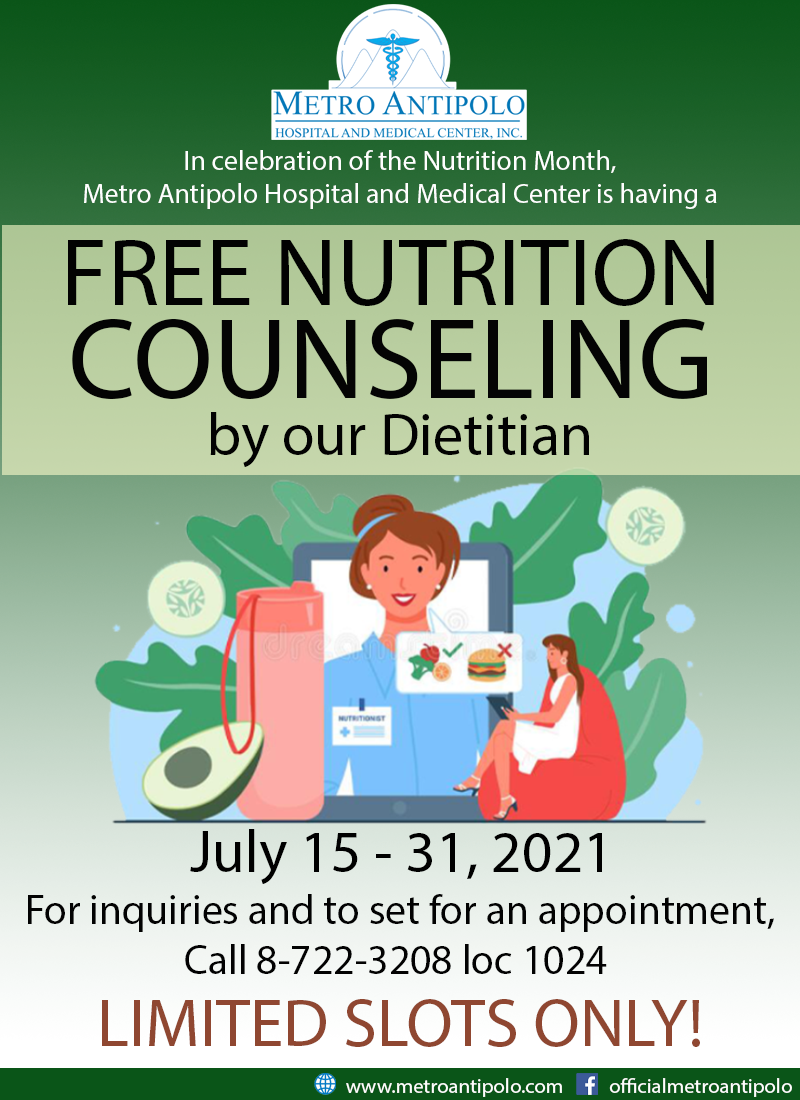 FREE NUTRITION COUNSELING