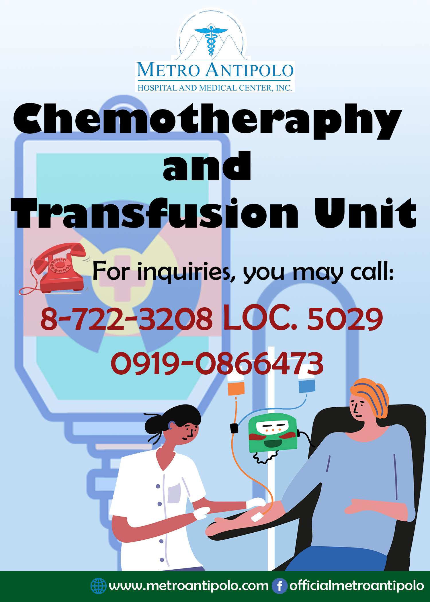Chemotheraphy and Transfusion Unit