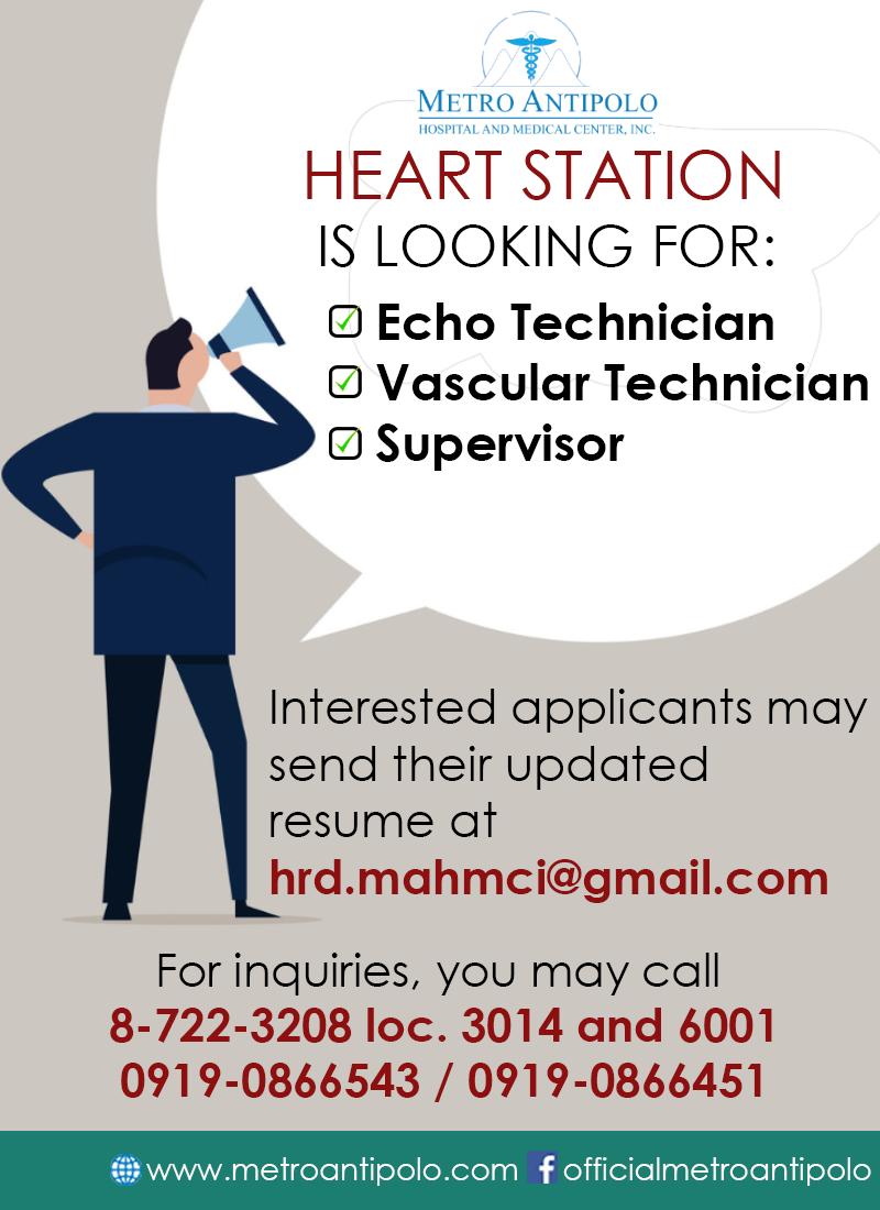 HEART STATION - hiring